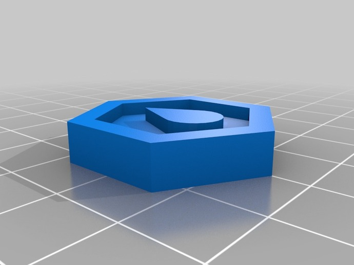 reprap logo token by mrjohn thingiverse