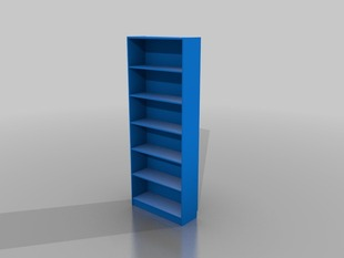 Parametric BILLY Bookcase