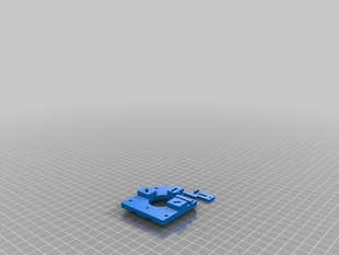 Auto belt tightener for x axis