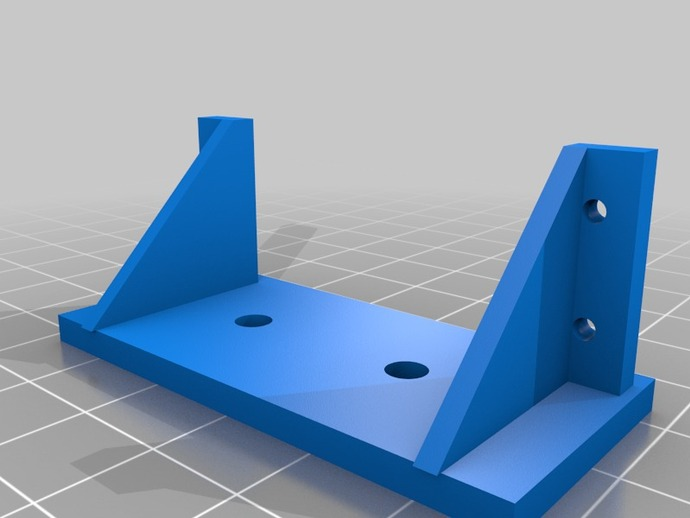 Servo Mounting Bracket By Wsolstice69 Thingiverse
