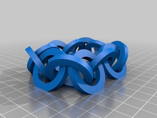 12 Interlocked Rings