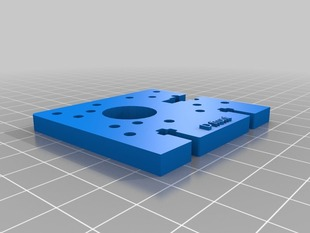 3D Printable Replacement Parts for Plastruder MK5/MK6 Support (plate D)