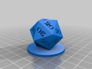 I Roll 20's - easier to print