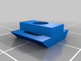 Printable T-Slot nut for Misumi Extrusions