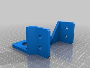 improved Z motor brackets for Aluminum Mendel