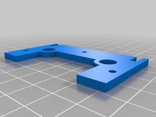 Printable X-Stage front for Makerbot