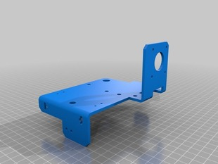 MakerSlide Gantry Bracket, Motor