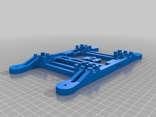Lm8uu Y Carriage for Prusa Mendel