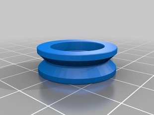 MakerSlide V Wheel, Double Bearing