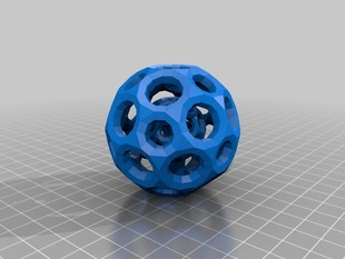 Mesh Ball in a Mesh Ball (separated)