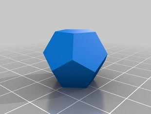Day 14: Filled Dodecahedron