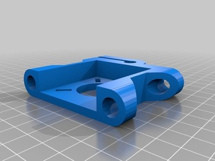 Yet another prusa integrated Z-motor-barclamp