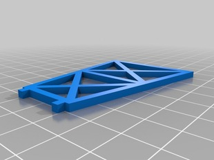HO Scale Support Truss