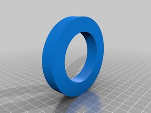 MakerBot spool spacer adapter