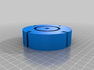 100% printable filament spool