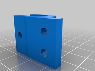 Y Endstop Holder For Back Rod For Prusa Mendel