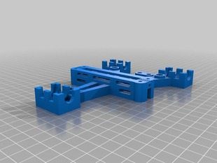 One Piece Lm8uu Y-Carriage for Prusa i2