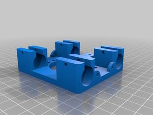 Beefy X Carriage for LM8UU with 30mm Fan Mount