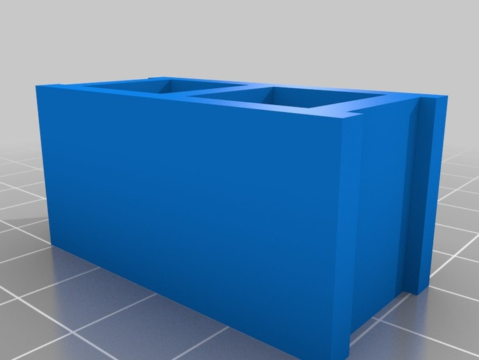 Toy Cinder Block By Jestin Thingiverse