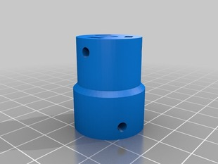 durable good to print Z axis coupling 5 to 8mm Prusa Mendel