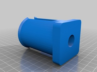 Spool holder for Heavy Duty Printable Filament Spool