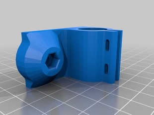 Y-axis Linear bearing holder / Print Bed holder combo