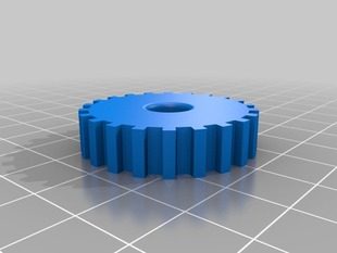 10013 Z axis driven sprocket pulley