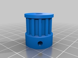 Printable 12 tooth T5 pulley