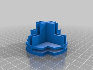 Toothless Grid Square Connector