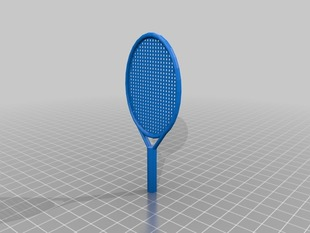 Thing-A-Day #16: OpenSCAD Tennis Racket