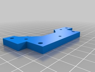 x-belt end pieces with pulley extenders for Huxley