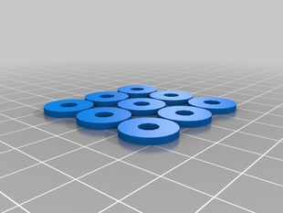 Small spacer (group of 9)