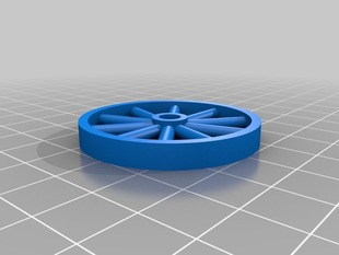 Parametric Spoked Wheel