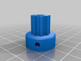 Mendel Pulley with 3 captive M3 nuts