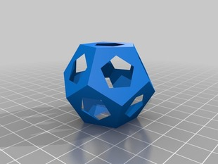 Platonic Solids for OpenScad - v0.7