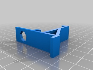 Suction cup eggcrate bracket