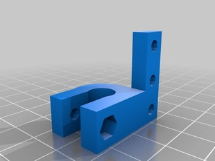 Prusa Y endstop to give extra length