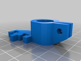 Shapercube 2.0 clamps for Linearbearings