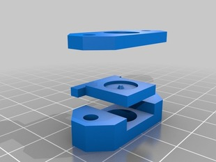 Parametric End Plate (for the Ultimaker)