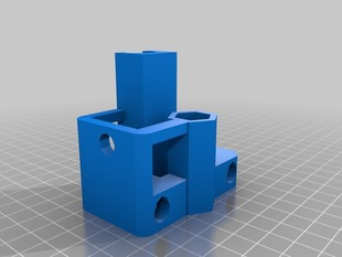 Prusa X-End motor and idler with lm8uu bearings holder