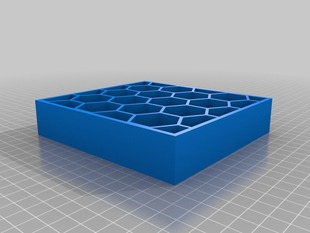 parametric honeycomb box