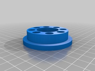 Filament Spindle Bushing and Lock Collar