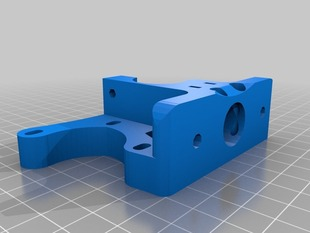 Inverted Tom's guided Greg's accessible hinged Wade's geared extruder